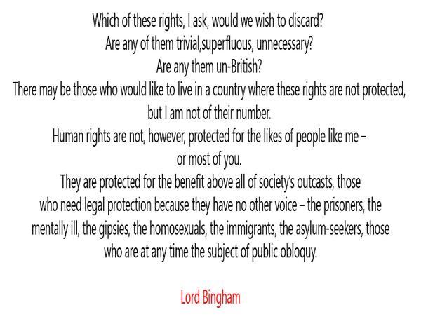 HRA Lord Bingham