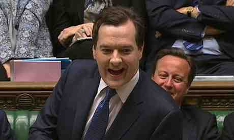 Gideon Oliver Osborne UK Chancellor of the Exchequer (Photograph: Reuters)