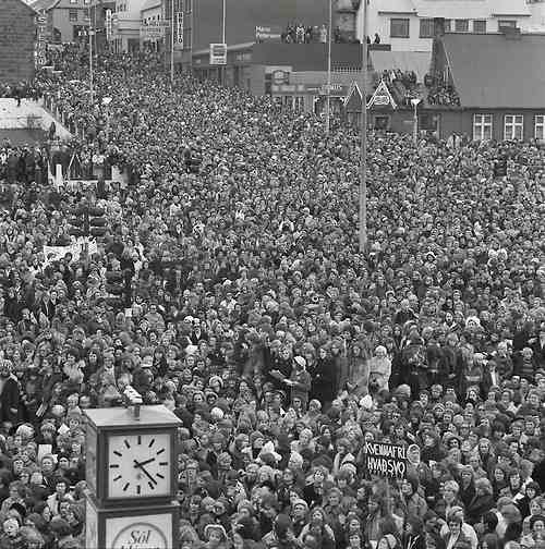 When 90 percent of Iceland's women went on strike in 1975