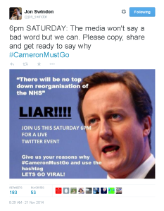 Cameron must go s