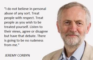 Corbyn respect