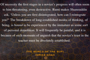 Sufi transformation process