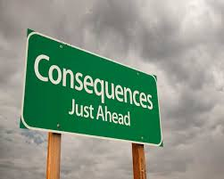 consequences ahead
