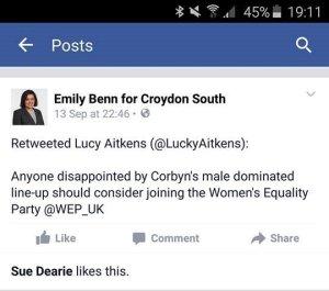Emily Benn FB