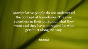manipulative people