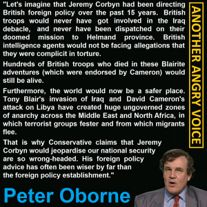Oborne on Corbyn