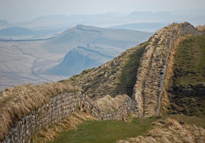 Hadrian's Wall, Northumberland (photographer unknown)
